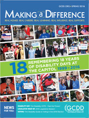 Making a Difference Spring 2016