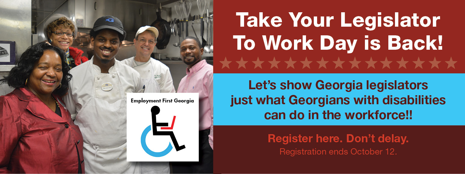 Take Your Legislator  To Work Day is Back! Register Now.