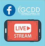 GCDD's Facebook Live Broadcast from Advocacy Days!