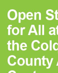 Open Studio for All at the Colquitt County Arts Center