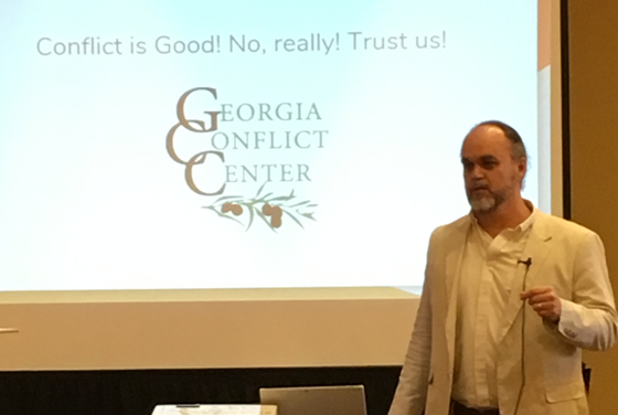 John Lash from the Georgia Conflict Center