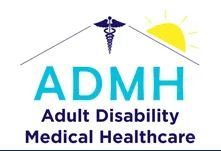 Adult Disability Medical Healthcare logo