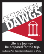 uga destination dawgs logo