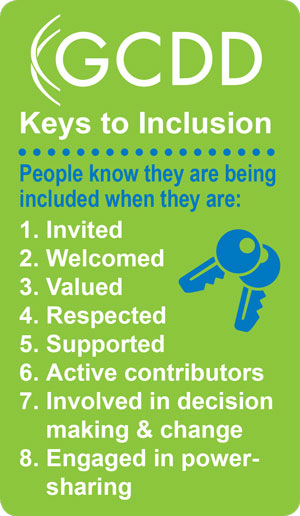 GCDD Keys to Inclusion