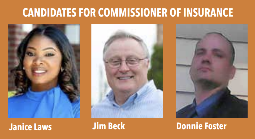 Candidates for Commissioner of Insurance