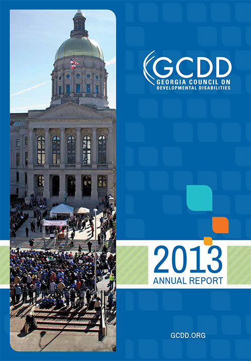 2013 GCDD Annual Report cover