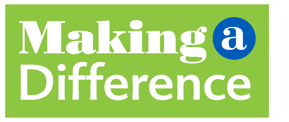 Making a Difference Magazine masthead