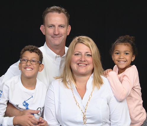 GCDD Council Member Christine Clark and family