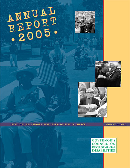 GCDD Annual Report 2005 cover