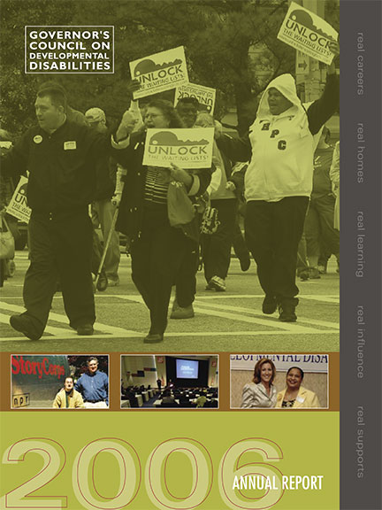 GCDD Annual Report 2006 cover