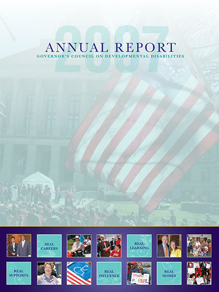 GCDD Annual Report 2007 cover