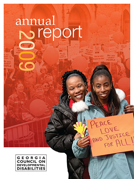 GCDD Annual Report 2009 cover