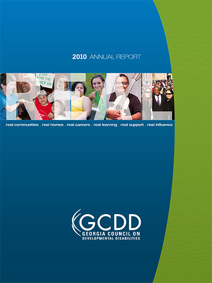 GCDD Annual Report 2010 cover