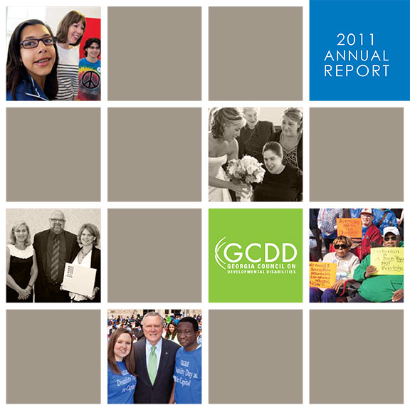 GCDD Annual Report 2011 cover