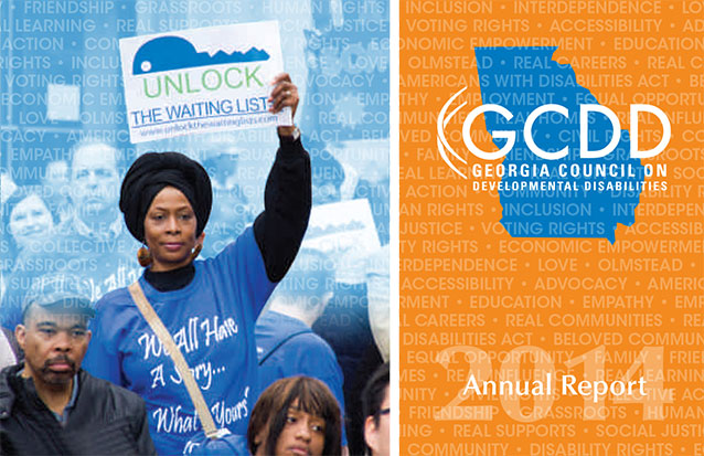 GCDD annual report 2014cover