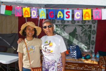 Madagascar booth