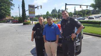 Angad Sahgal with Sandy Springs Police