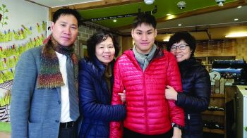 Peter An and family