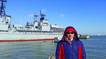 Peter An visits Korea