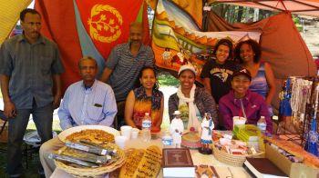 Eritrean booth