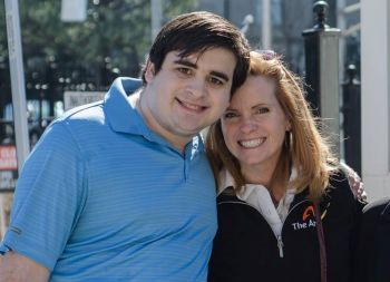 Transition - Ryan Ramirez and his Mom Stacey at the Capitol