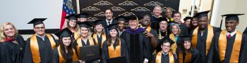Graduation at Kennesaw State University Inclusive College Program 2018
