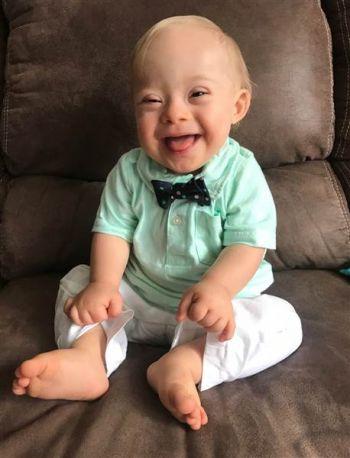 New Gerber baby Lucas Warren from Dalton, GA