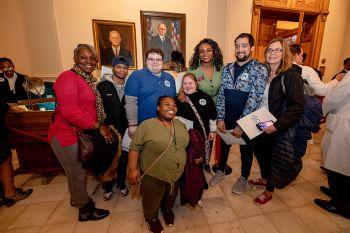 HCBS Advocacy Day 2020 Advocates