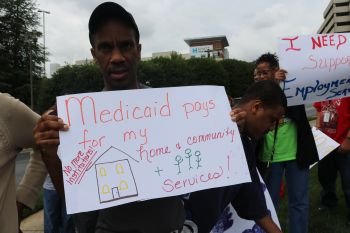 Advocates rally against Medicaid Caps and Cuts