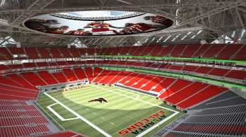 Atlanta Falcons new Mercedes-Benz stadium