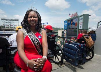 Mrs. Wheelchair America Yvette Peguise