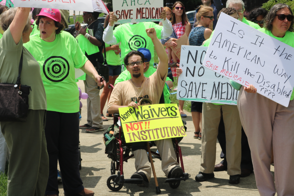 Save Medicaid Rally