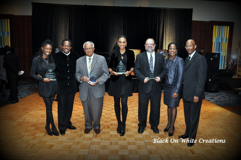 2012 NAACP Award Dinner - Jacobson and winners