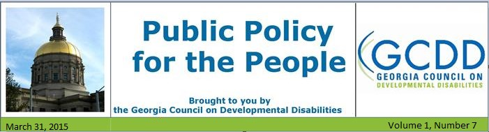 Public Policy for the People NL: Vol 1, Issue 7, March 31, 2015