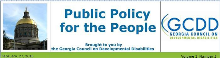Public Policy for the People NL: Vol 1, Issue 5, February 27, 2015