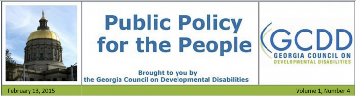 Public Policy for the People NL: Vol 1, Issue 4, February 13, 2015