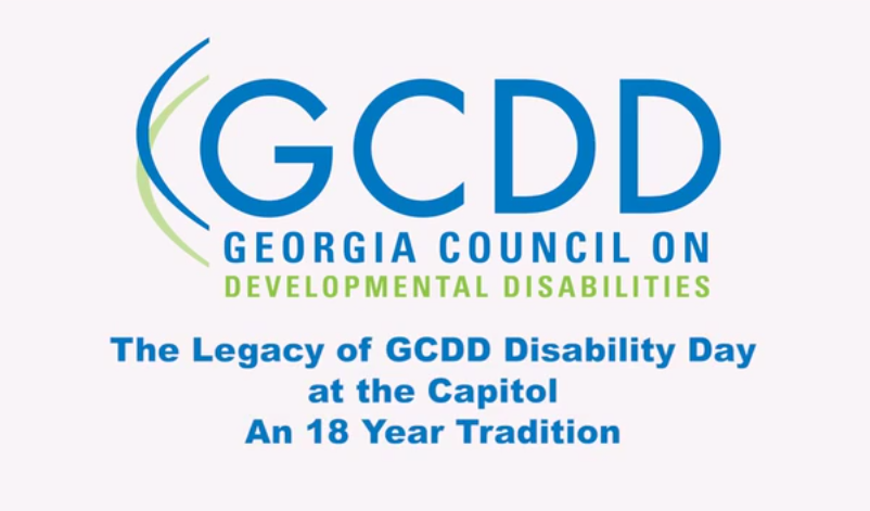 The Legacy of GCDD Disability Day at the Capitol, Feb 2016