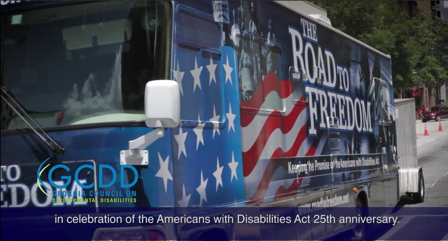 ADA25 PSA for GCDD (Captioned), Aug 2015